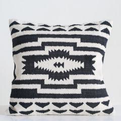 Oversized Cotton Kilim Throw Pillow