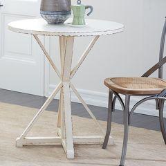 Weathered Wood Farm Side Table