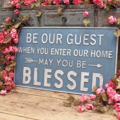 May You Be Blessed Wall Sign
