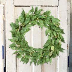 Seeded Decorative Eucalyptus Wreath