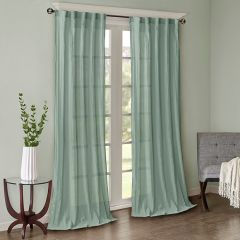 Sophisticated Solid Curtain Panel Set of 2