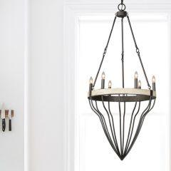 Simple Country Gothic Chandelier