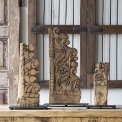 Decorative Architectural Carving on Base