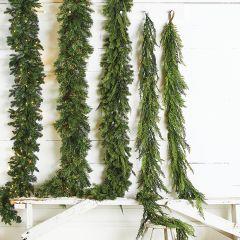 Decorative Evergreen Cedar Garland