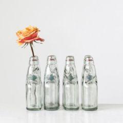 Decorative Glass Soda Bottle