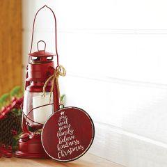 Decorative Oil Lamp Style Lantern