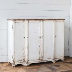 Distinctly Distressed Console Cabinet