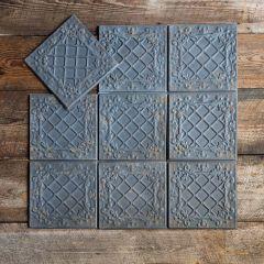 Distressed Tin Ceiling Tiles Antique Black Bundle