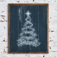 Dreamy Christmas Tree Wall Art