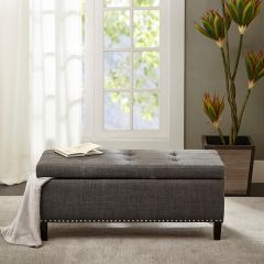 Classic Tufted Top Storage Bench