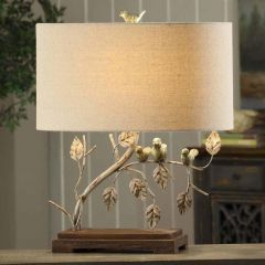 Birds and Branch Table Lamp