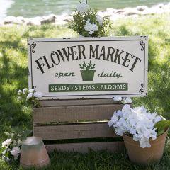 Flower Market Spring Wall Art