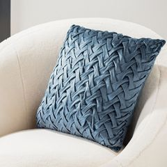 Textured Touch Cottage Accent Pillow