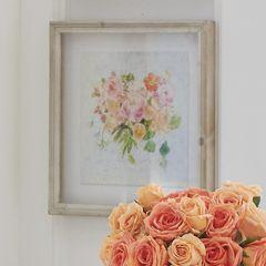 Blooming Flowers Shadow Box Print