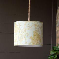 French Quarter Drum Shade Pendant Light