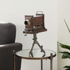 Antique Inspired Decorative Camera