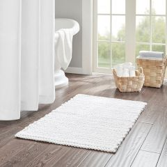 Chain Stitch Solid Accent Rug