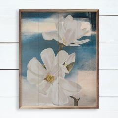 Blue Magnolias Wall Art
