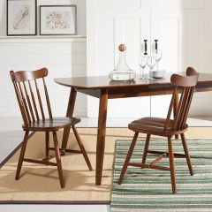 Classic Farmhouse Spindle Dining Chair Set of 2