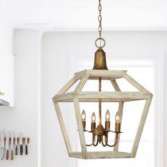 Open Frame Farmhouse Pendant Light