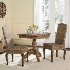 Wicker Dining Chair Set of 2