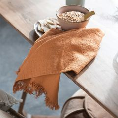 Simple Fringed Tea Towel Collection Set of 4