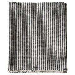 Cotton Striped Dhurrie Accent Rug