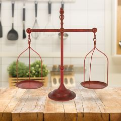 Antiqued Decorative Balance Scale