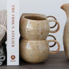 Earthy Glaze Stoneware Mug Bundle