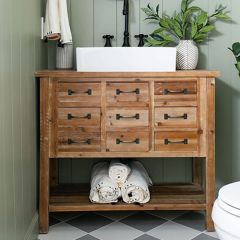 9 Drawer Console Table