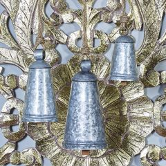 Decorative Rustic Hanging Bell Collection Set of 3