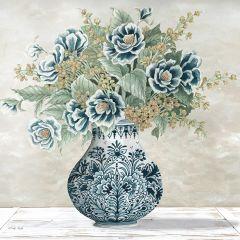 Elegant Vase Bouquet Wall Art