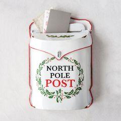Embossed North Pole Post Box