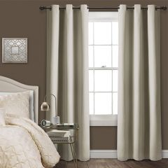 Nice and Neutral Curtain Panel Set of 2