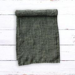 Cottage Woven Linen Table Runner