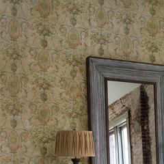 Weathered Southern Floral Wallpaper