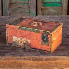 Vintage Inspired Cigar Storage Box
