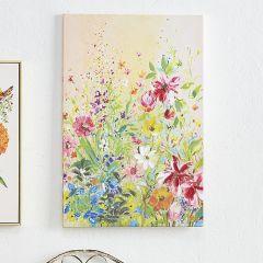 Flowers In Bloom Canvas Wall Art