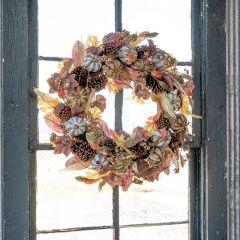 Farmhouse Harvest Autumn Wreath