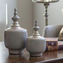 Elegant Finish Ceramic Jar