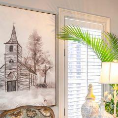 Elegant Church Wall Art Set of 2