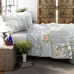 Floral Quilt Bedding Set