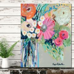 Vibrant Bouquet Canvas Wall Art