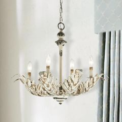 Classic Country Leaf Chandelier
