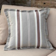 Stately Striped Pillow
