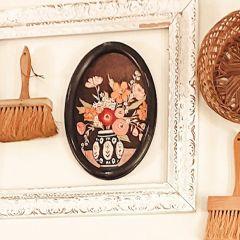 Framed Flower Vase Wall Art