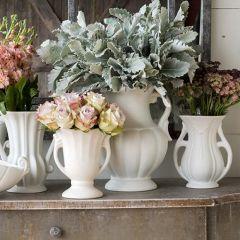 Vintage Inspired Flower Vase Set of 4
