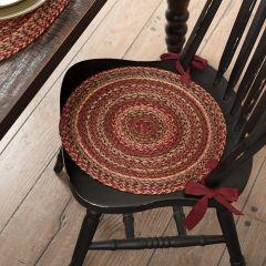 Primitive Farmhouse Jute Chair Pad Set of 6