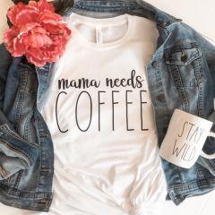Momma Needs Coffee Shirt XL