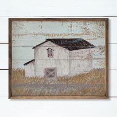 Faded Barn Art Wall Decor